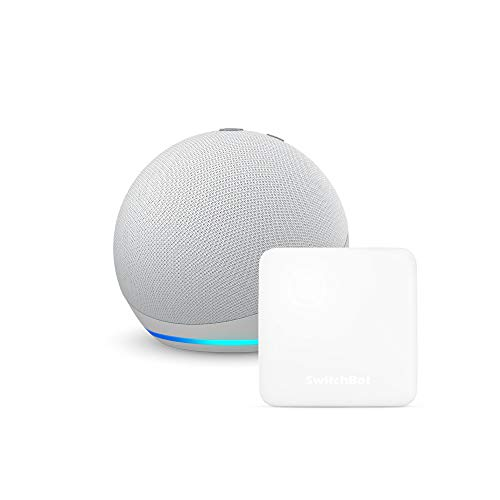 【セット買い】Echo Dot (第4世代) グレーシャーホワイト + スイッチボット Hub Mini スマートリモコン