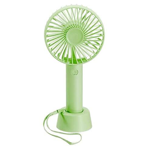 YUXIwang USB Mini Fan Refrigerador de Verano Mini Ventilador de Mano USB Cargar Escritorio Personal Ventiladores Recargables Oficina portátil Outdoor Viaje al Aire Libre Fuente de energía