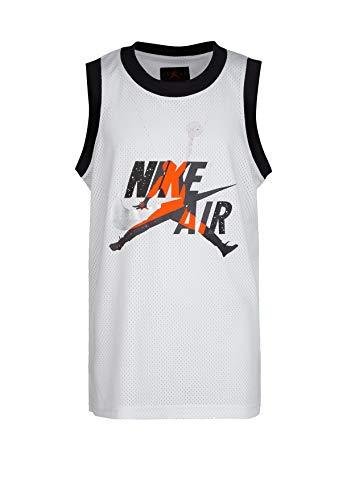 Nike Air Jordan Jumpman Classics Basketball Jersey Top (X-Large, White)