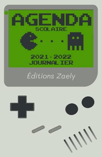 Agenda Scolaire 2021 2022 Journalier: Organiseur gamer   1 Page par Jour de Août 2021 à Juillet 2022