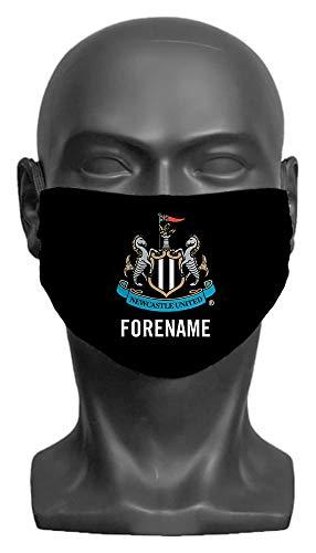 Personalised Newcastle United FC Crest Adult Face Mask (Medium)