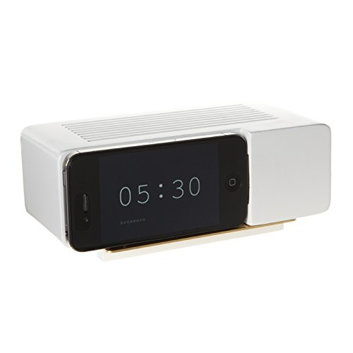 Areaware Alarm Dock Docking Station iPhone 4/4S wit