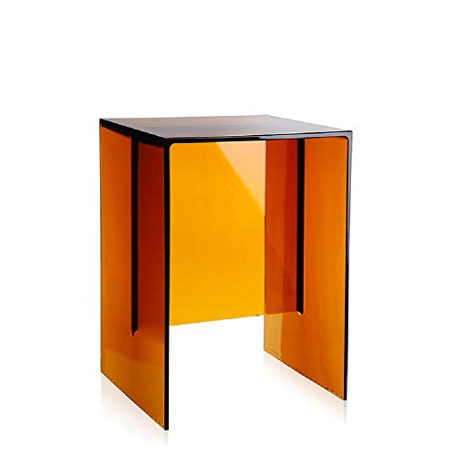 Kartell Max-Beam, plastic, amber, 27 x 47 x 33 cm