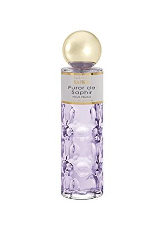 Parfums Saphir Furor - Eau de Parfum Vaporisateur Femme - 200 ml