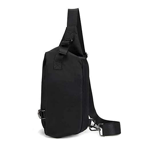 Maijia Sling Bag Vest Rig Chest Bag Hip Hop Waist Front Bag Tactical Pack Waterproof Bag Men Women Lightweight Crossbody for Hiking,Cycling, Traveling