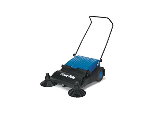 Lowest Price! Powr-Flite PS320 Manual Push Sweeper, 32