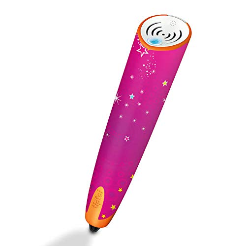 DeinDesign Skin kompatibel mit Ravensburger Tiptoi Stift mit Aufnahmefunktion Folie Sticker Sterne pink Glitzer Look