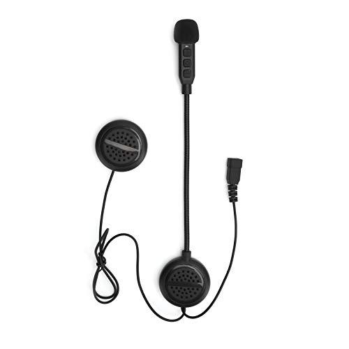 Estink Motorrad Bluetooth Headset, wasserdichtes Motorrad Helm Headset mit Mikrofon, Stereo Noise Reduction Intercom Headset, geeignet für Motorradfahren
