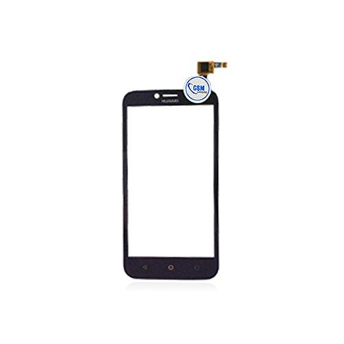 GSMC5 –Glass Frontal Pantalla táctil de Cristal digitalizador para Huawei Ascend y625Negro # itreu