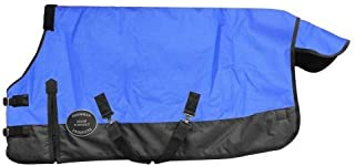 Chicks Saddlery Showman Large Mini/Pony 1200 Denier Adjustable Waterproof Turnout Blanket - 300 Grams Fill
