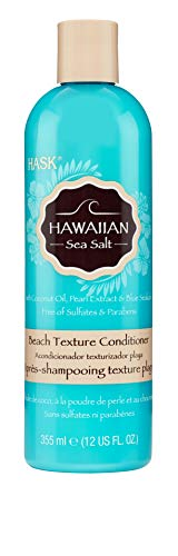 HASK Hawaiian Sea Salt Beach Texture Conditioner Pack of 2 x 355 g