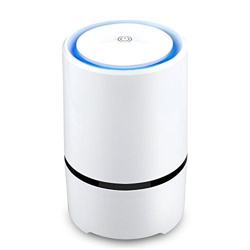 Purificador de aire con filtro HEPA AFBESTcon luz nocturna