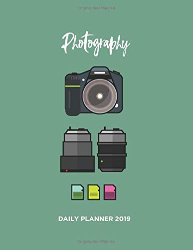 Photography Daily Planner 2019-2020
