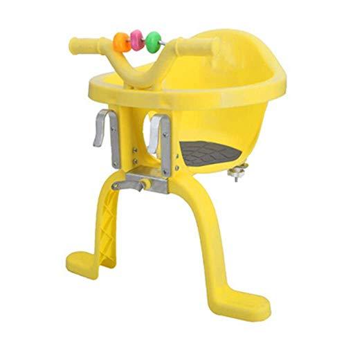 YUQIN kinderzitje voor fiets en elektrische fiets veiligheidsstoel met armleuning pedaal en hek