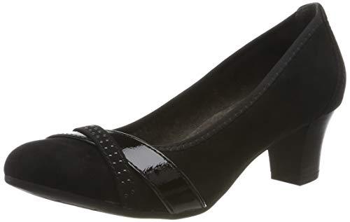 Jana Damen 25506 Stiefel, Schwarz (Black), 39 EU:
