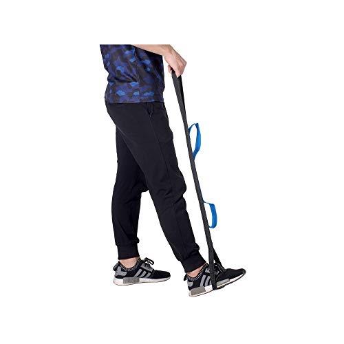 Bein Gurt Oberschenkelheber Riemen Beinheber Fußheber Gurt Handgriff Schleife- Ältere, Behinderte, Behinderung, Pädiatrie Mobilitätshilfen für Rollstuhl, Bett, Auto, Couch, Hüft- und Knieersatz