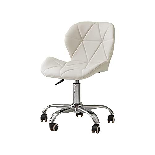 CLIPOP Sedia girevole da ufficio con ruote girevoli e regolabile in altezza in pelle PU, scrivania per computer per casa, ufficio, studio, camera