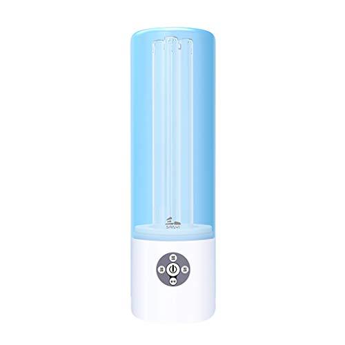 Desinfektions-Licht, Mobiles Tragbares Uv-Ozon-Sterilisationslicht TöTet 99,9% Der Bakterien-Schimmel-Keimviren FüR Auto-Haushalts-KüHlschrank-Toiletten-Haustierbereich