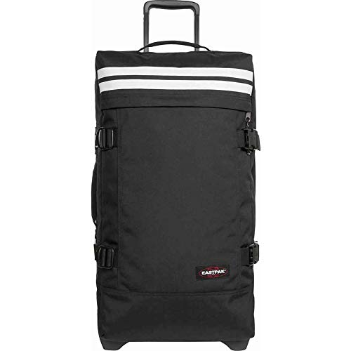 EASTPAK TRANVERZ WHEELED HOLDALL MEDIUM (REFLECTIVE BLACK)