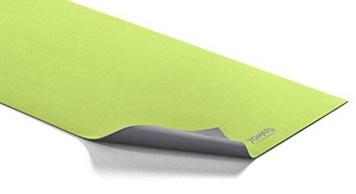 YOMATS Premium Yogamatte - 100% natürlich & ökologisch, Naturkautschuk - für Yoga & Pilates, Sport, rutschfest