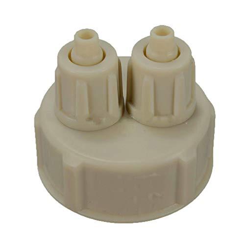 teng hong hui Botella Caliente Medidor de CO2 Pro Cap Botella CO2 Calibre Tubo Sistema de válvulas para DIY Kit Acuario plantado Tanque