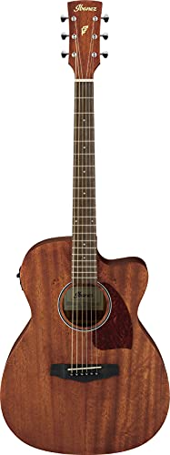 Ibanez Performance Series PC12MHCEOPN Grand Concert Acoustic-Electric Guitar (Right Hand, Satin Natural)