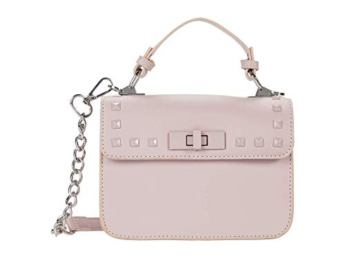 Steve Madden Bsantiago Top-Handle Crossbody with Studs Blush One Size