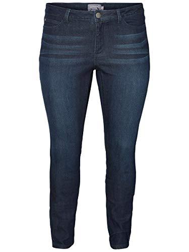 Junarose Female Jeans Slim Fit 52Dark Blue Denim