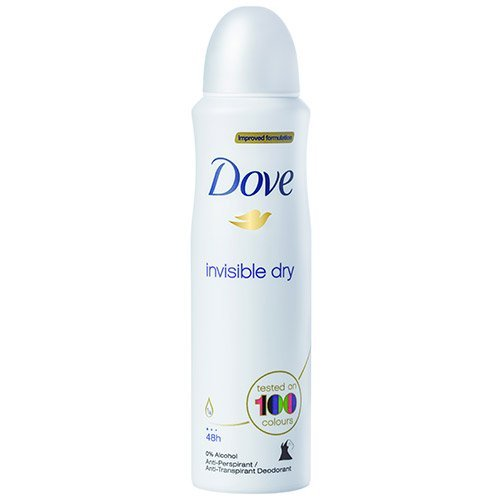 (3 PACK) DOVE Dry Spray Antiperspirant 48 hours, (Invisible Dry) 5oz