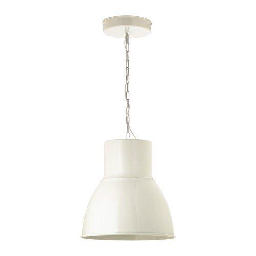 IKEA HEKTAR Hängeleuchte in weiß; A; (47cm)