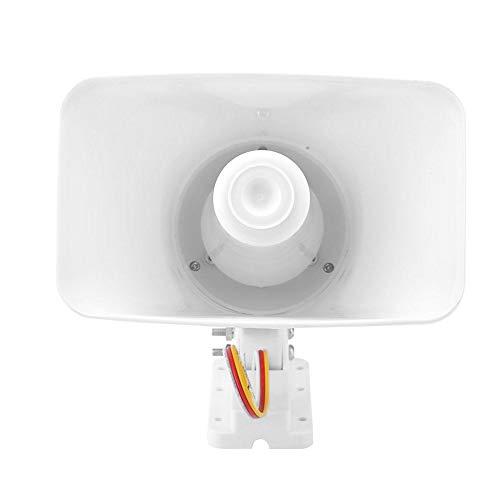 Diyeeni 12V 150dB alarmsirene Hoge prestaties, bedraad alarmsysteem Diefstalbeveiliging, hittebestendig inbraakalarmsysteem