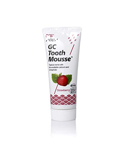 Remineralising Dental Topical Creme GC Mousse With Fresh Fruits 3-5 Days Delivery (Strawberry)