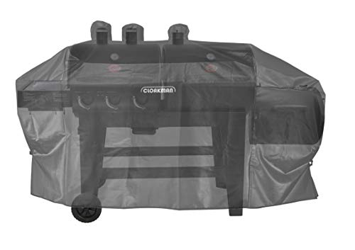 Cloakman 5072 5750 Cover fits Char-Griller Dual Function and Hybrid Dual Fuel Grill with Side Fire Box 8087