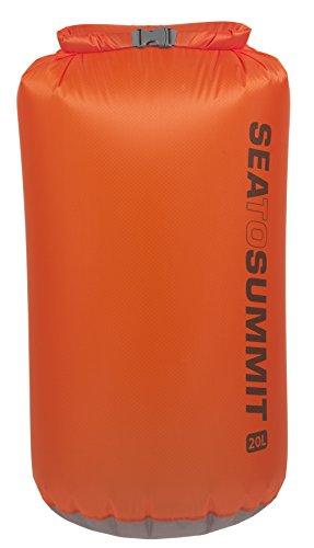Sea to Summit Ultra-SIL Drysack Wasserfester Packsack, Orange, 20L
