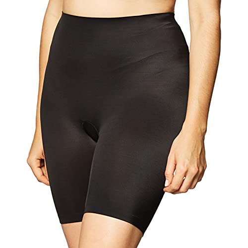 Maidenform womens Cover Your Bases Smoothing Short Dm0035 shapewear half slips, Black, Medium US