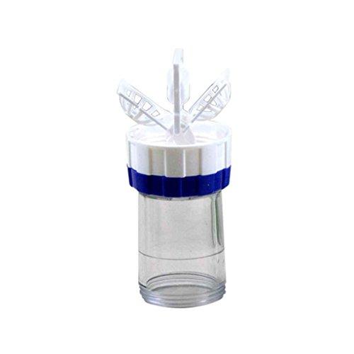 Fangfeen New manuell Kontaktlinsen-Reiniger Reinigung Objektive Waschmaschine Reinigung Linse-Kasten-Werkzeug