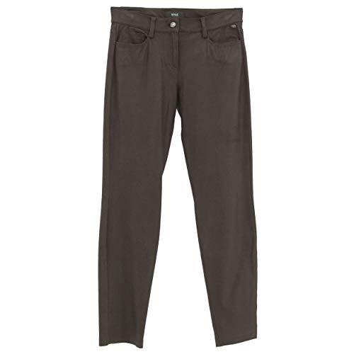 BRAX, Shakira Slim, Damen Damen Jeans Hose Weiches Lederimitat Dark Chocolat W 27 L 32 D 36 [22924]