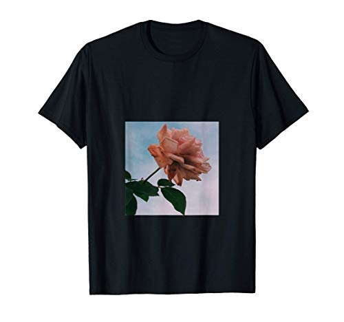 Roses Flowers Aesthetic Retro stylish vintage pink floral T-Shirt