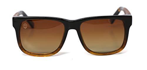 Óculos de Sol de Acetato com Madeira Charlie