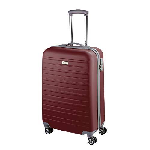D&N Travel Line 9400 Koffer, 54 cm, 36L, Bordeaux