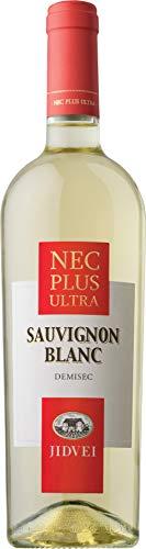 Jidvei | NEC PLUS ULTRA Sauvignon Blanc- Vin Alb Demisec | Weißwein halbtrocken aus Rumänien | 0,75 L D.O.C.