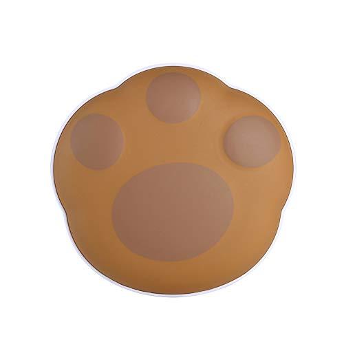 QAQWER handwarmer handwarmer USB oplaadbaar Power Bank 5000mAh 2 in 1 met zak van fluweel Het beste cadeau voor vrouwen (bruin)