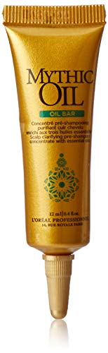 L'Oreal Professional Mythic Oil Bar Scalp Clarifying Pre-Shampoo Treatment, 15 Ounce