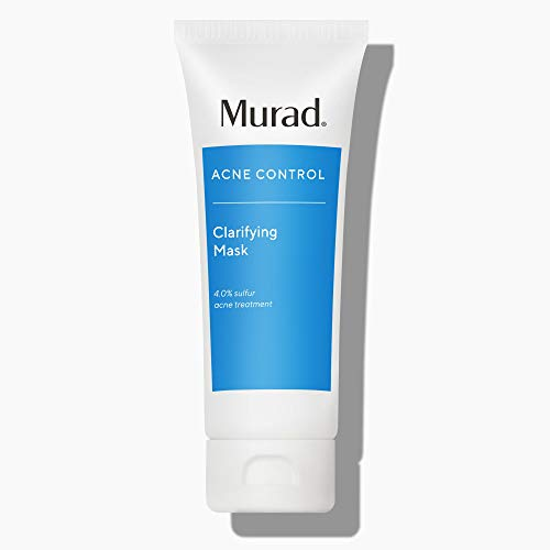 Murad Acne Clarifying Mask, 2: Treat/Repair, 2.65 oz Purifying Care Treatment for Facial Acne and Blackheads