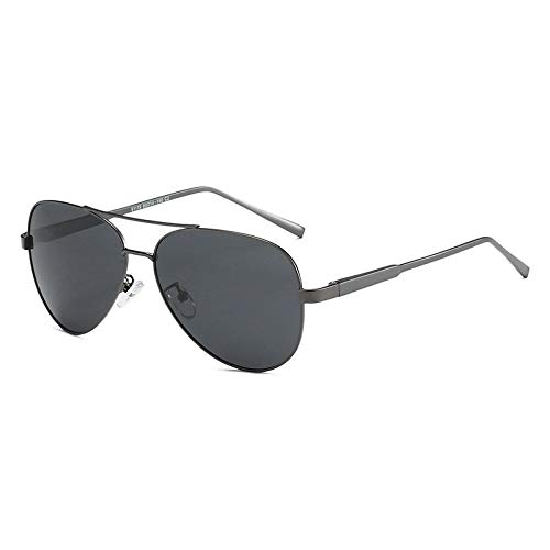 Vibner Gafas de Sol Gafas De Sol con Montura De Aleación De Aluminio Polarizadas 100% para Hombres, Gafas De Sol De Conducción para Mujeres De Moda, Gafas De Temporada, Protección Uv400 C2