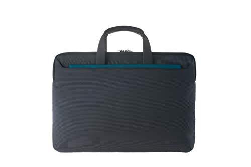 Tucano-Borsa Ufficio per Laptop 15.6 Pollici e per MacBook 15 Pollici. Borsa da Lavoro Donna e Borsa da Lavoro Uomo con Tracolla e con Tasca Interna inbottita per Computer Portatile, iPad e Tablet