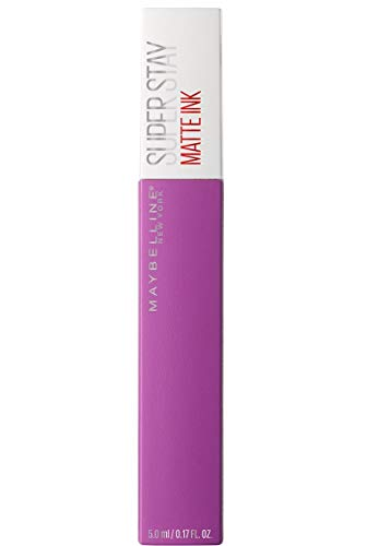Maybelline New York - Superstay Matte Ink, Pintalabios Mate de Larga Duración, Tono 35 Creator