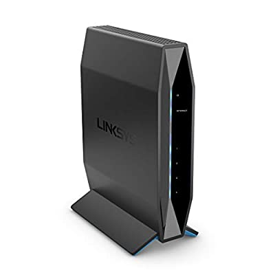 Linksys AC1200 Wi-Fi Router for Home Networking, Dual Band Wireless Gigabit WiFi Router, Fast Speeds up to 1.2 Gbps, Parental Controls, Coverage up to 1,000 sq ft and up to 10 Devices (E5600)