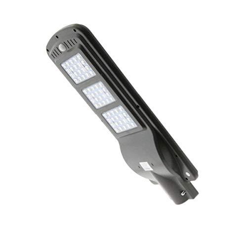 Farola Solar de LED para Alumbrado Público 60W con Sensor de Movimiento IP 65 Luminosidad 4500LM Dimensión 240X620H mm