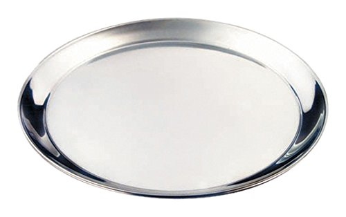 Genware NEV-52039 dienblad, roestvrij staal, 30,5 cm rond, 300 mm